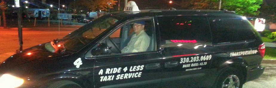 Shuttle Service| Rides 4 Less Taxi Service - Akron, OH